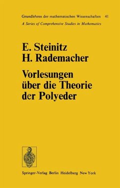Vorlesungen über die Theorie der Polyeder unter Einschluss der Elemente der Topologie. Grundlehren der mathematischen Wissenschaften, Band 41.
