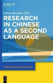 Research in Chinese as a Second Language