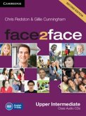 Upper-Intermediate, 3 Class Audio-CDs / face2face