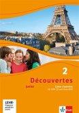 Découvertes Junior. 2 Cahier d'activités mit MP3-CD und Video-DVD. Klasse 6