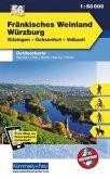 Kümmerly & Frey Outdoorkarte Fränkisches Weinland, Würzburg