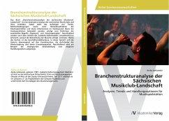 Branchenstrukturanalyse der Sächsischen Musikclub-Landschaft