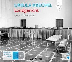 Landgericht, 8 Audio-CDs - Krechel, Ursula