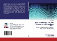 Non-Traditional Security Threats to Pakistan Post 9/11