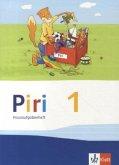 Piri Fibel. Hausaufgabenheft in Druckschrift 1. Schuljahr