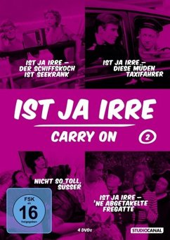 Ist ja irre - Carry On - Vol. 2 DVD-Box - James,Sidney/Connor,Kenneth
