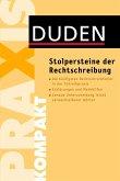 Stolpersteine der Rechtschreibung (Mängelexemplar)