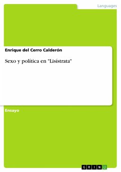 """Sexo y política en """"Lisístrata"""""""