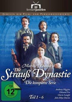 Die Strauß-Dynastie: Teil 1-6 DVD-Box - Chomsky,Marvin J.