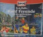 3er Box Fünf Freund und die gefährlichen Entführer / Fünf Freunde Bd.49/72/89 (3 Audio-CDs)