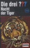 Nacht der Tiger / Die drei Fragezeichen Bd.159 (1 Cassette)