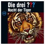 Nacht der Tiger / Die drei Fragezeichen - Hörbuch Bd.159 (1 Audio-CD)