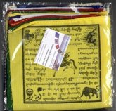 Traditionelle tibetische Gebetsfahne ST