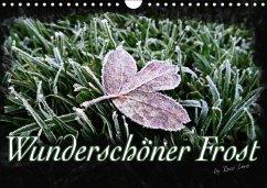 Wunderschöner Frost (Wandkalender immerwährend DIN A4 quer)