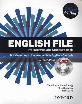 English File Pre intermediate Student's Book ... - YouTube