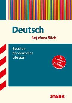 Deutsch - auf einen Blick! Epochen der deutschen Literatur - Hille, Markus