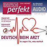 Deutsch lernen Audio - Beim Arzt (MP3-Download)