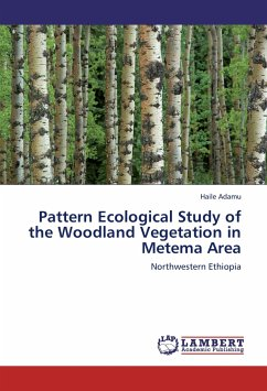Pattern Ecological Study of the Woodland Vegetation in Metema Area