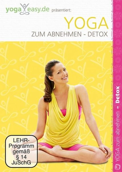 yoga easy yoga zum abnehmen detox film auf dvd. Black Bedroom Furniture Sets. Home Design Ideas