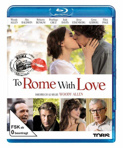 To Rome With Love Auf Blu Ray Disc Portofrei Bei Bücherde