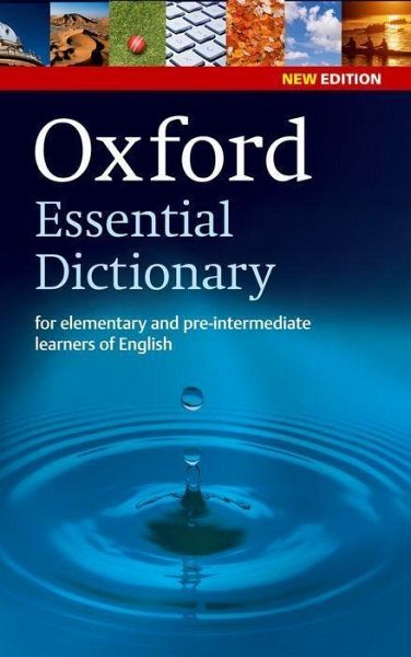 oxford essential dictionary englisches buch. Black Bedroom Furniture Sets. Home Design Ideas