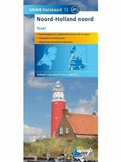 ANWB Fietskaart Noord Holland noord