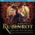 Rubinrot / Liebe geht durch alle Zeiten Bd.1 (7 Audio-CDs)