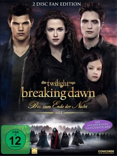 Breaking Dawn - Biss zum Ende der Nacht, Teil 2 (2-Disc Fan Edition) - Stewart,Kristen/Pattinson,Robert