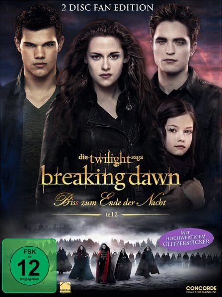 Breaking Dawn - Biss zum Ende der Nacht, Teil 2 (2-Disc Fan Edition) - Kristen Stewart/Robert Pattinson