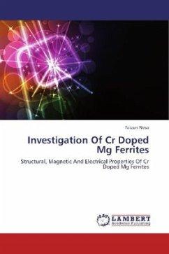 Investigation Of Cr Doped Mg Ferrites