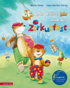 Der kleine Bär und das Zirkusfest, m. Audio-CD