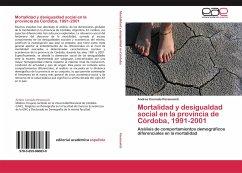 Mortalidad y desigualdad social en la provincia de Córdoba, 1991-2001