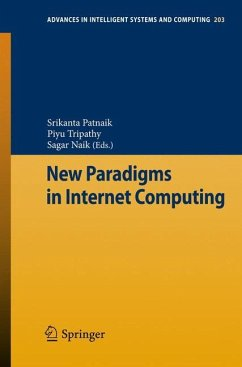 New Paradigms in Internet Computing - Patnaik, Srikanta; Tripathy, Piyu; Naik, Sagar