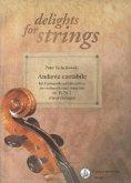 Andante cantabile für Violoncello und Streichtrio