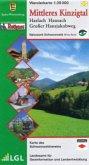 Topographische Wanderkarte Baden-Württemberg Mittleres Kinzigtal