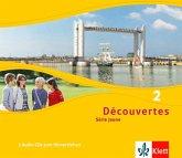 3 Audio-CDs zum Hörverstehen / Découvertes - Série jaune Bd.2