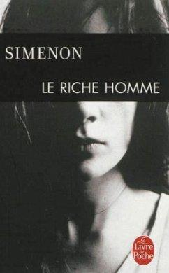 Le riche homme - Simenon, Georges
