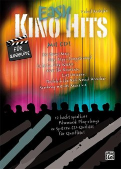 Easy Kino Hits für Querflöte, m. 1 Audio-CD