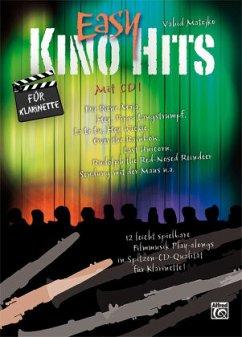 Easy Kino Hits für Klarinette, m. 1 Audio-CD