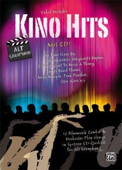 Kino Hits für Alt-Saxophon, m. 1 Audio-CD
