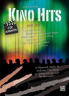 Kino Hits für Klarinette, m. 1 Audio-CD