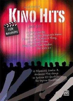 Kino Hits für Blockflöte, m. 1 Audio-CD