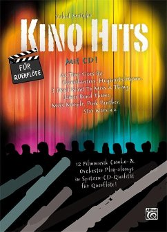 Kino Hits für Querflöte, m. 1 Audio-CD