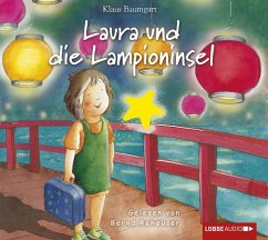 Laura und die Lampioninsel, 1 Audio-CD - Baumgart, Klaus; Neudert, Cornelia