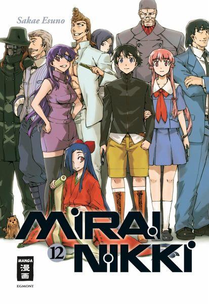 Buch-Reihe Mirai Nikki
