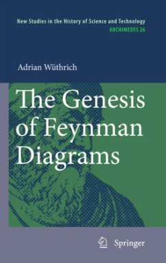The Genesis of Feynman Diagrams - Wüthrich, Adrian
