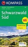 KOMPASS Wanderkarte Schwarzwald Süd