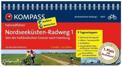 Nordseeküsten-Radweg 01 - Von der holländischen Grenze nach Hamburg - Pollmann, Bernhard