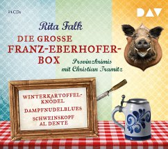 Die große Franz-Eberhofer-Box, 12 Audio-CDs - Falk, Rita