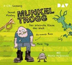 Der kleinste Riese der Welt / Munkel Trogg Bd.1 (3 Audio-CDs) - Foxley, Janet